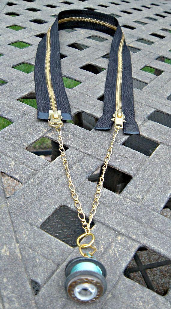 Zippity Doo Dah Recycled Black 36 Inch Zipper and by luv4sams, $24.00