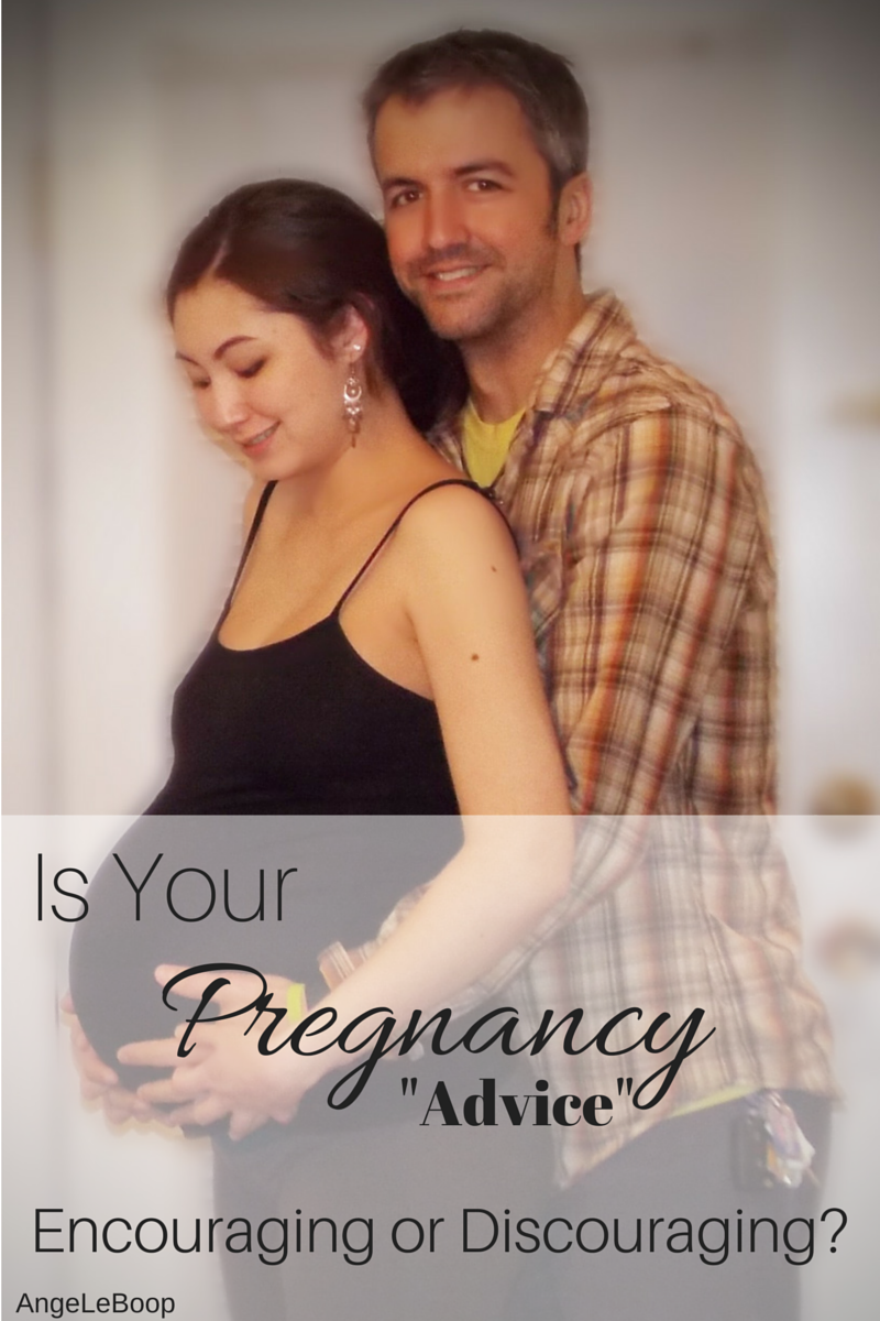 """AngeLeBoop: Is Your Pregnancy """"Advice"""" Encouraging or Discoura..."""