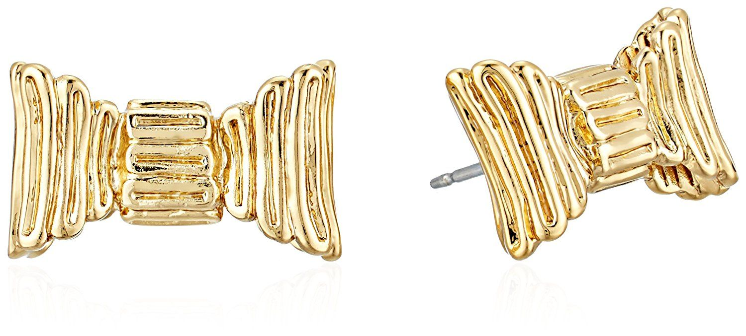 kate spade new york gold stud earrings *** Click image to review more details. (This is an affiliate link) #JewelryForWomen