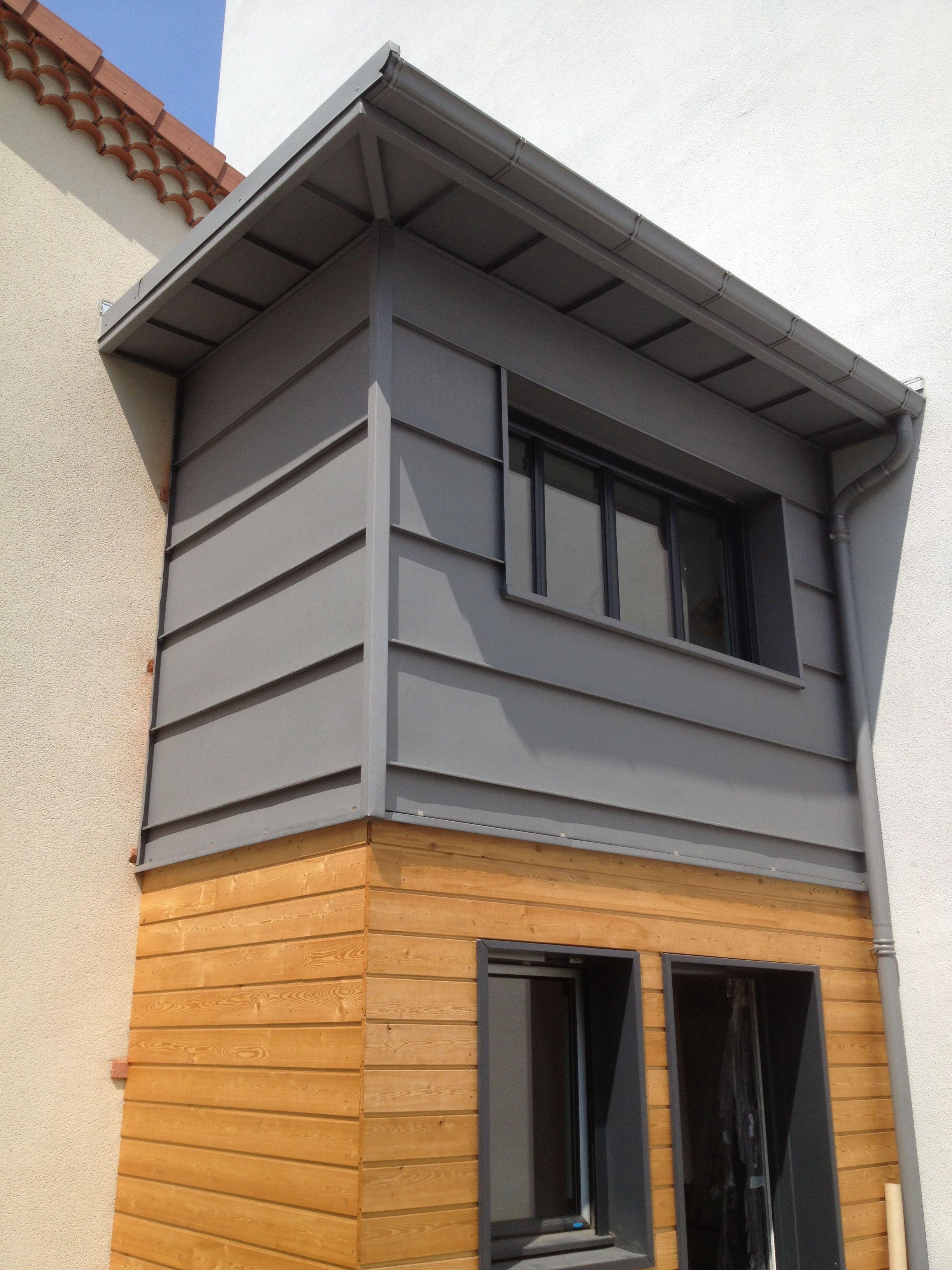 photo maison bardage zinc ventana blog. Black Bedroom Furniture Sets. Home Design Ideas