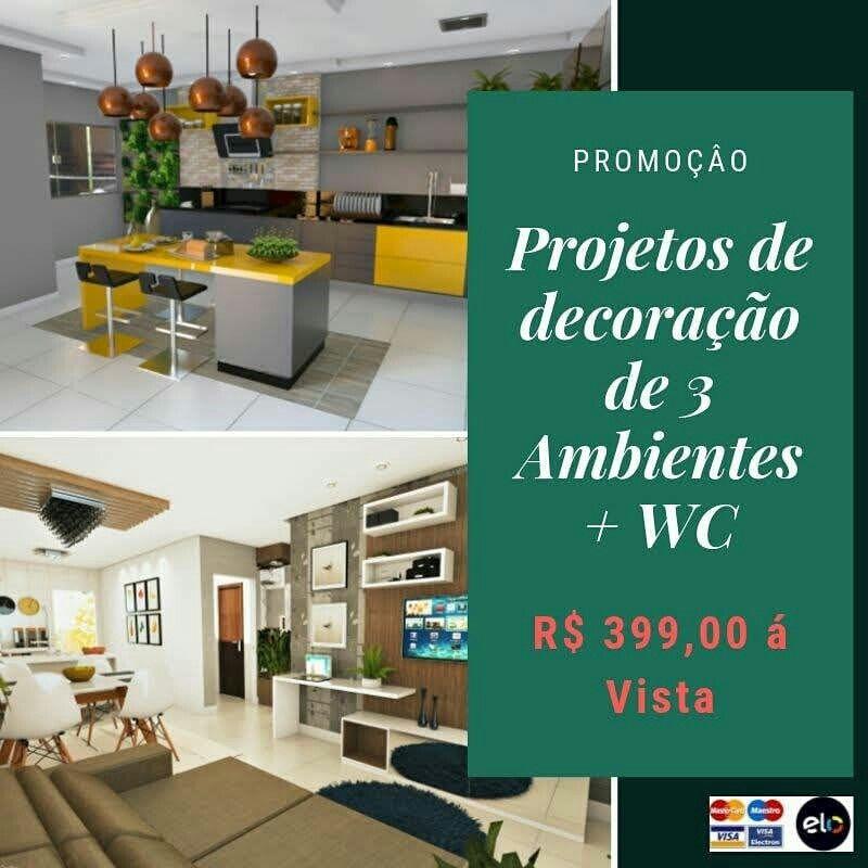 Promocao Projetos De Decoracao De Interiores R 399 00 3