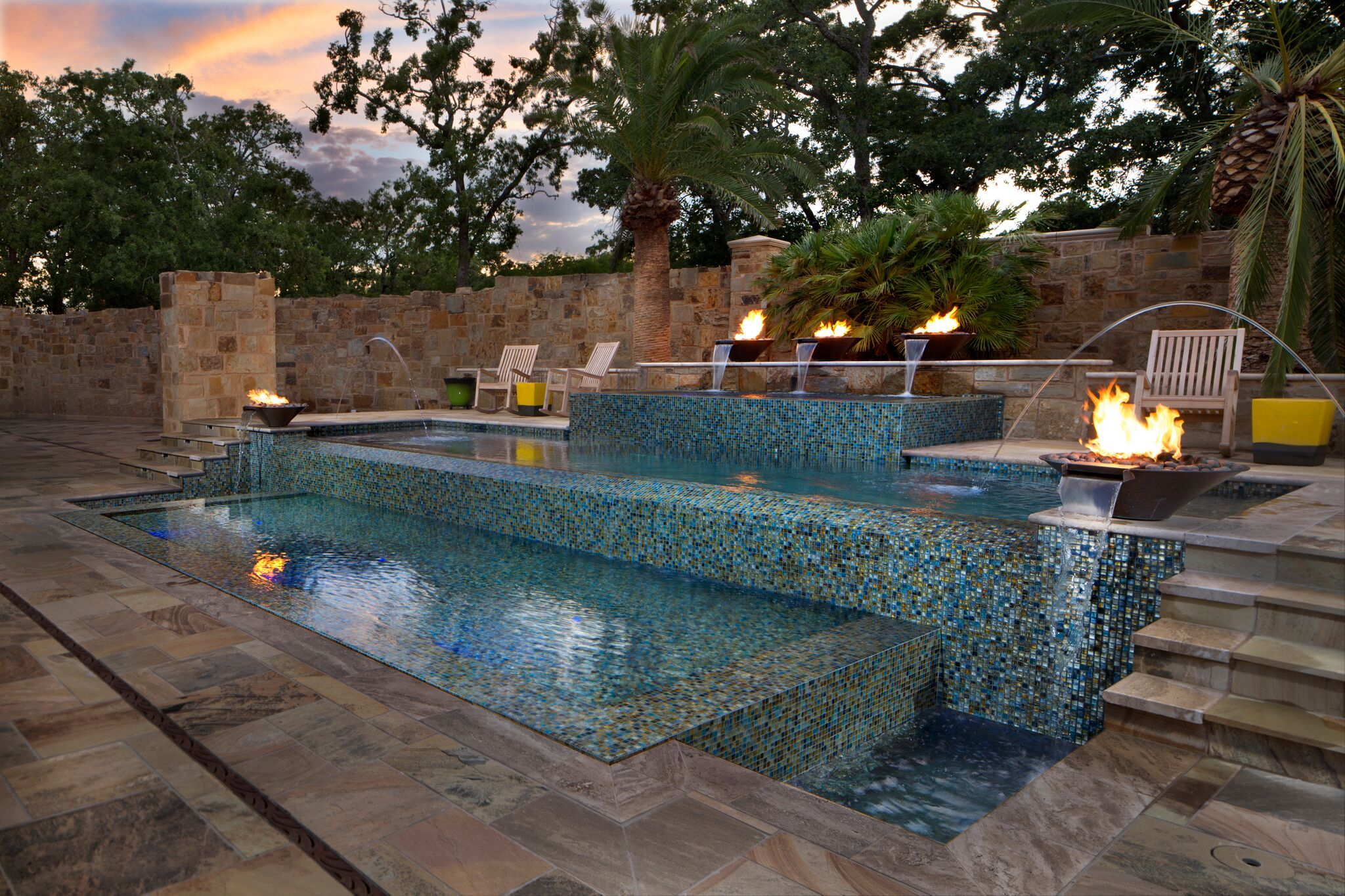 Gfk Pool Victoria Giddings Custom Pool Builders Austin Water Designs Yard