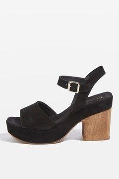 VIOLETS Leather Sandals