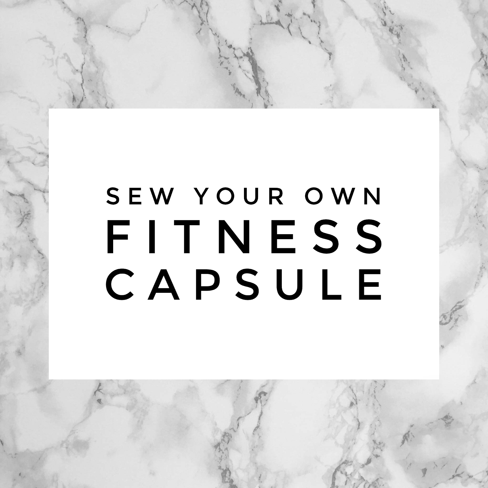 Sew Your Own Activewear Capsule Wardrobe A Free Planning
