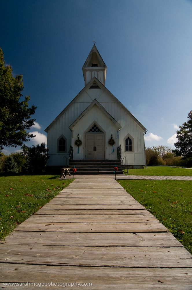 Awesome Rustic Church Living History Farms Near Des Moines
