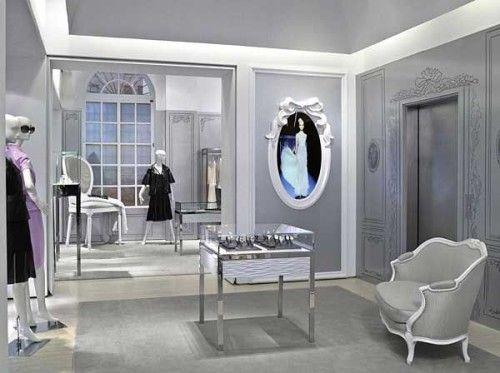 Dior temporary store nyc gensler dior for Boutique deco interieure