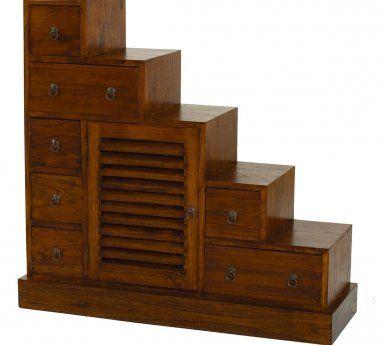 Meuble Escalier En Bois Exotique Mindi Lauren Home Bookcase Furniture