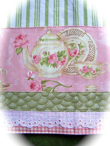 Superieur Simply Shabby Chic Tea Towel.