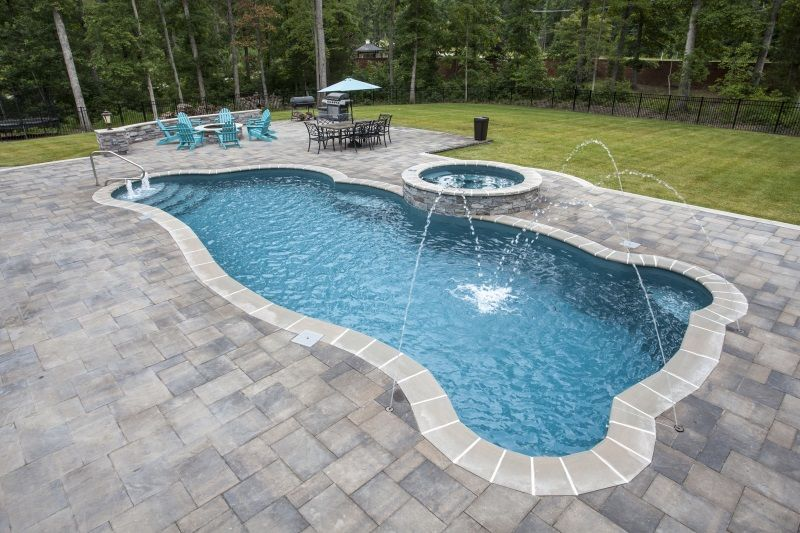 Synergy fiberglass swimming pool by Trilogy in 2019 ...