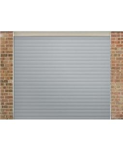 Roller Shutter Garage Door In Light Grey Roller Doors Roller Shutters Garage Doors