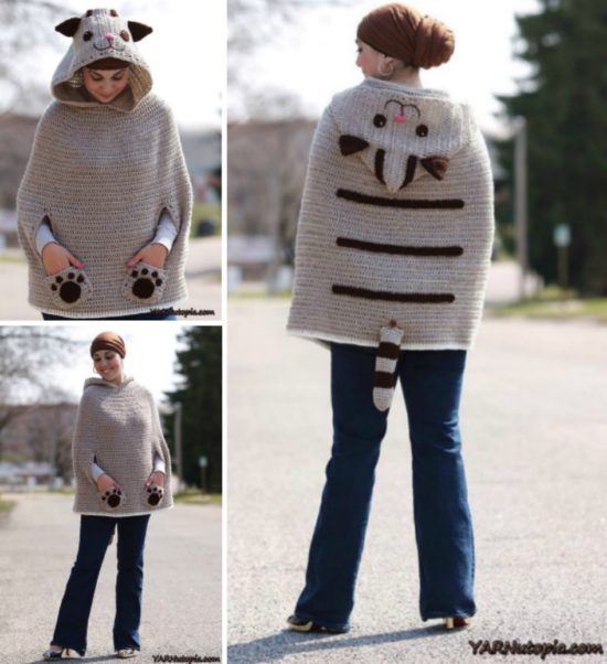 Cat Ear Scoodie Crochet Pattern Video Tutorial | Do you remember ...