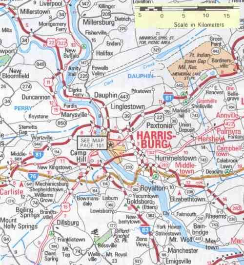 Hbg and surrounding areas. | Harrisburg, PA | Keystone state ...