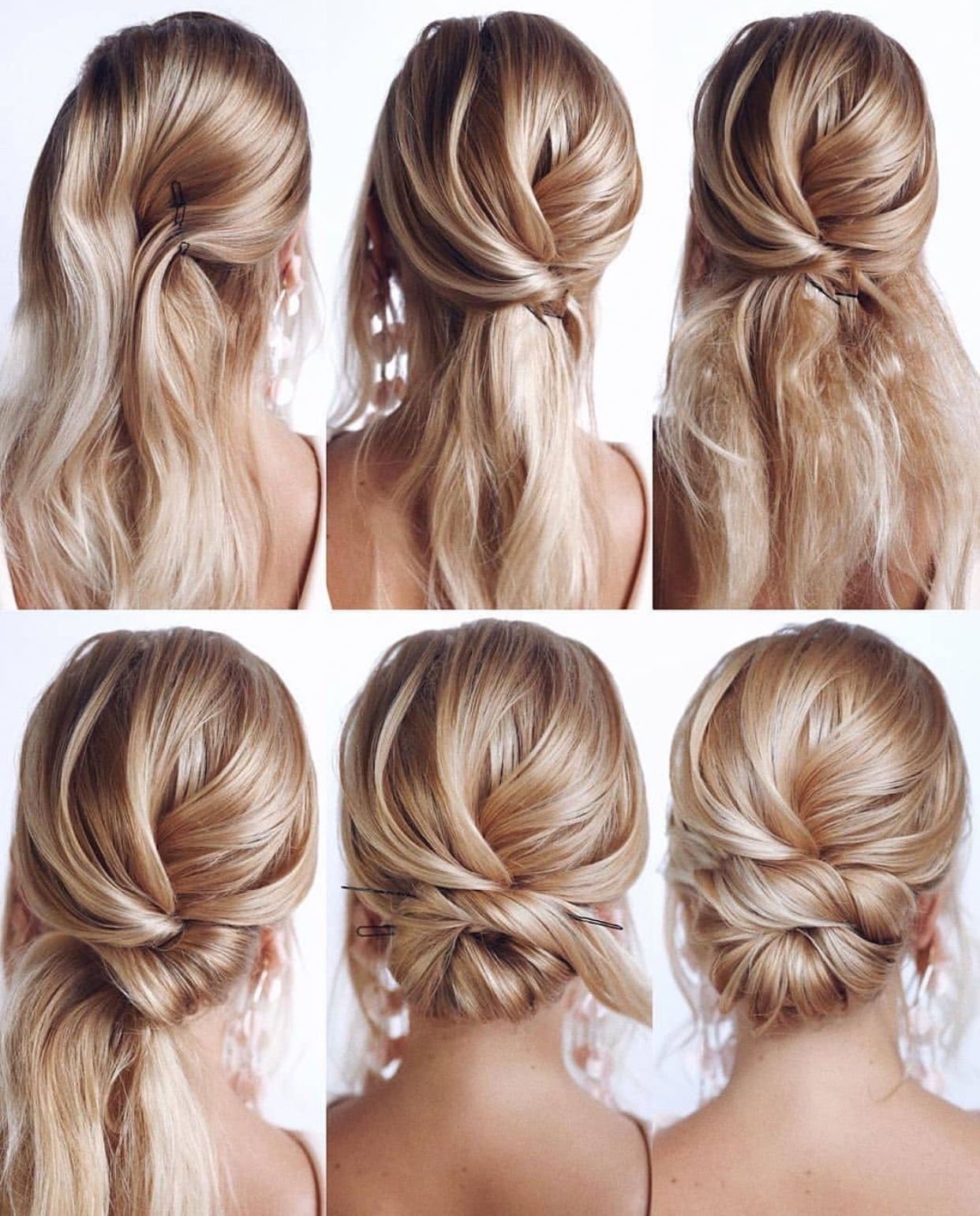 Simple Yet Classy Hairdo Steps Easy Homecoming Hairstyles Long Hair Styles Hair Styles