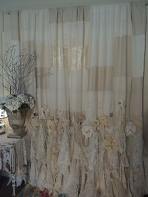 Picture 4 Of 12 Shabby Chic Lace Curtains Vintage Lace Curtains