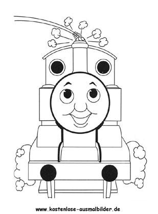 ausmalbild thomas die lokomotive zum kostenlosen ausdrucken und ausmalen. ausmalbilder |