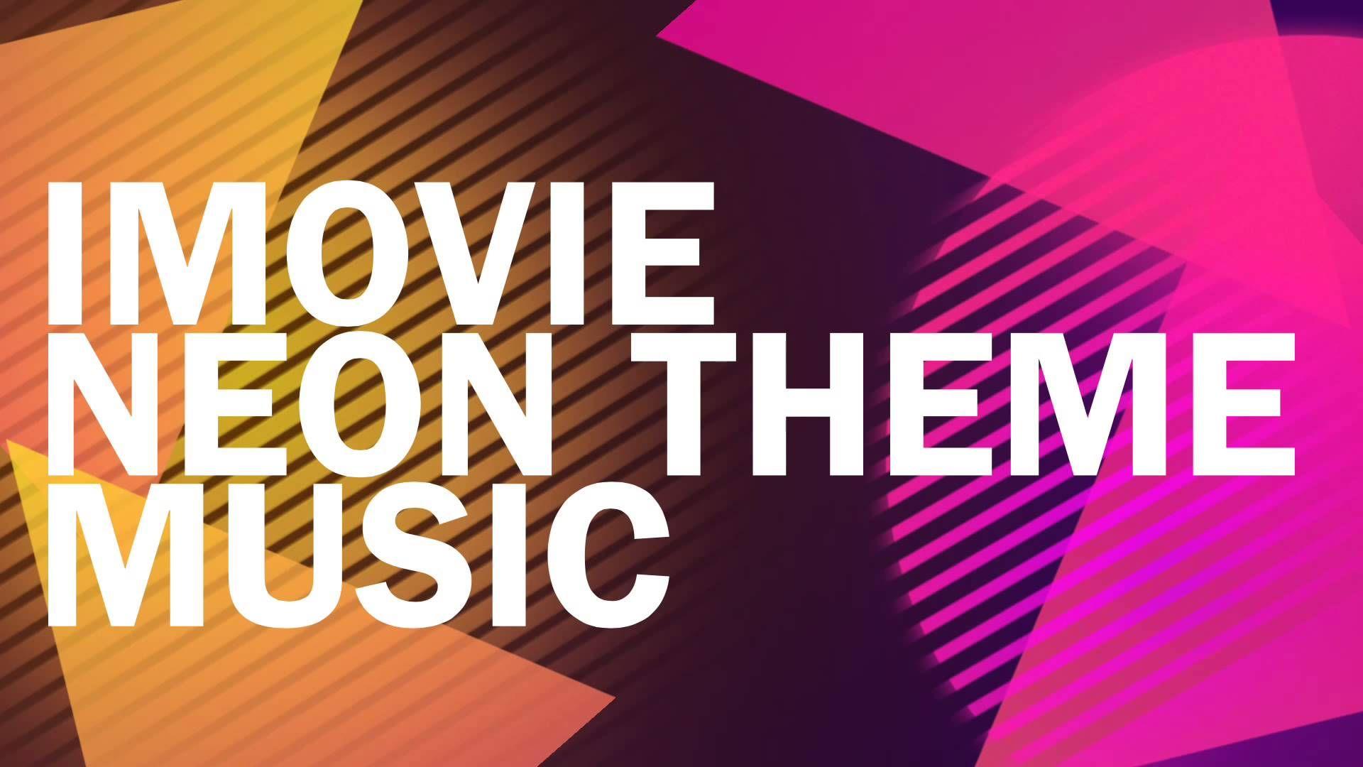 iMovie Neon theme music Dog clicker training, Dog