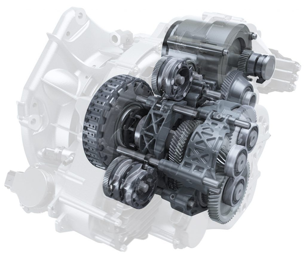 Getrag Hybrid Double Clutch Transmission Double Clutch