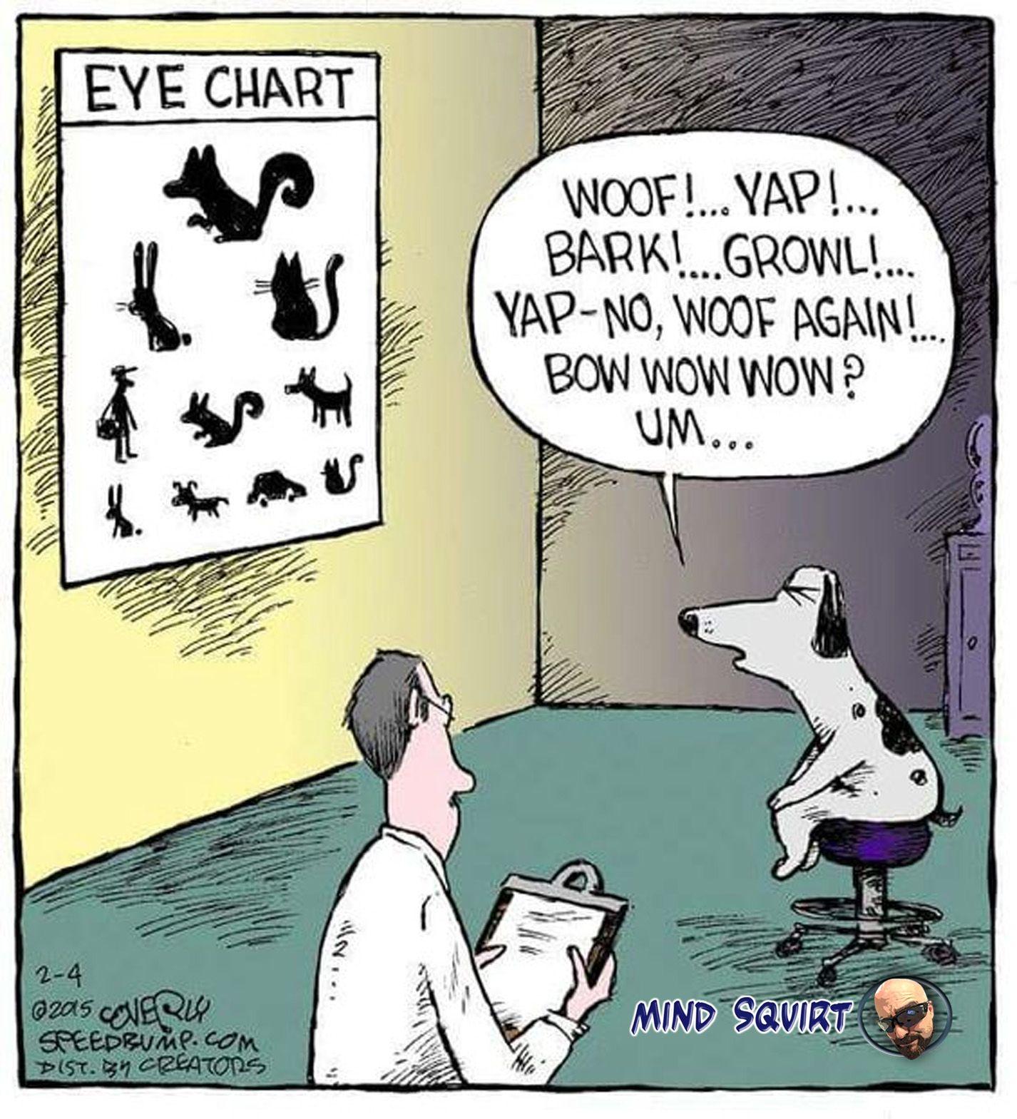 Pin By Barbara Mazzola On Cartoons Funny Cartoons Optometry Humor Speed Bump Comic