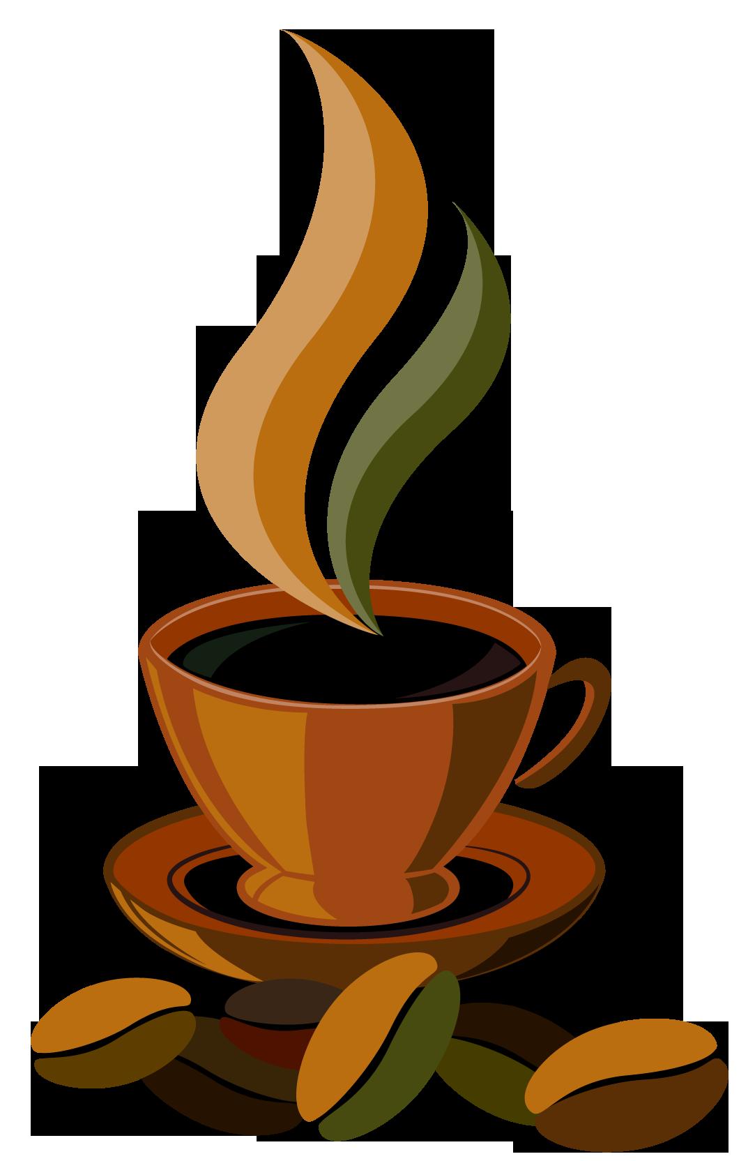 Coffee cup cartoon