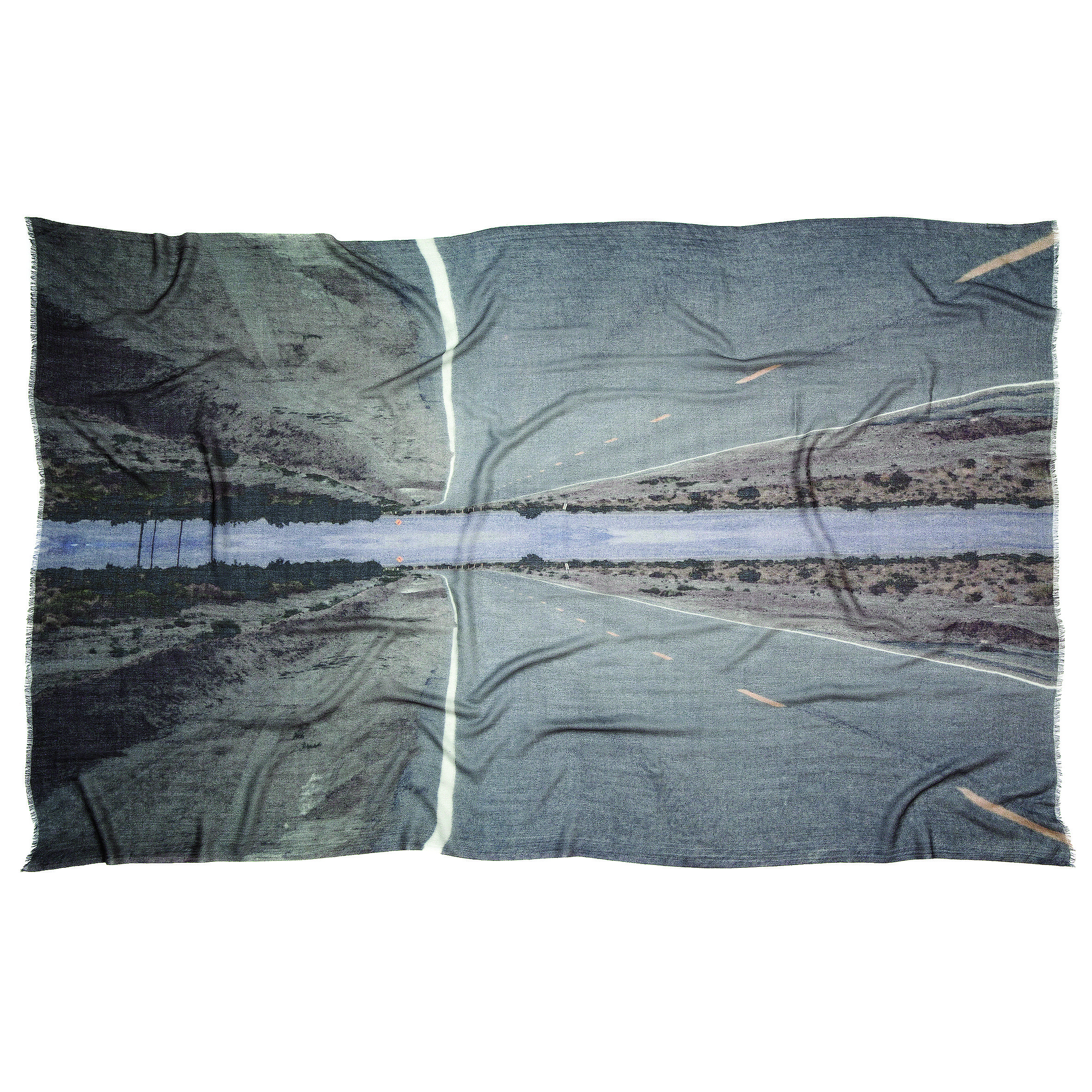 Photo of Desert Rd – Large Format Photo Scarf