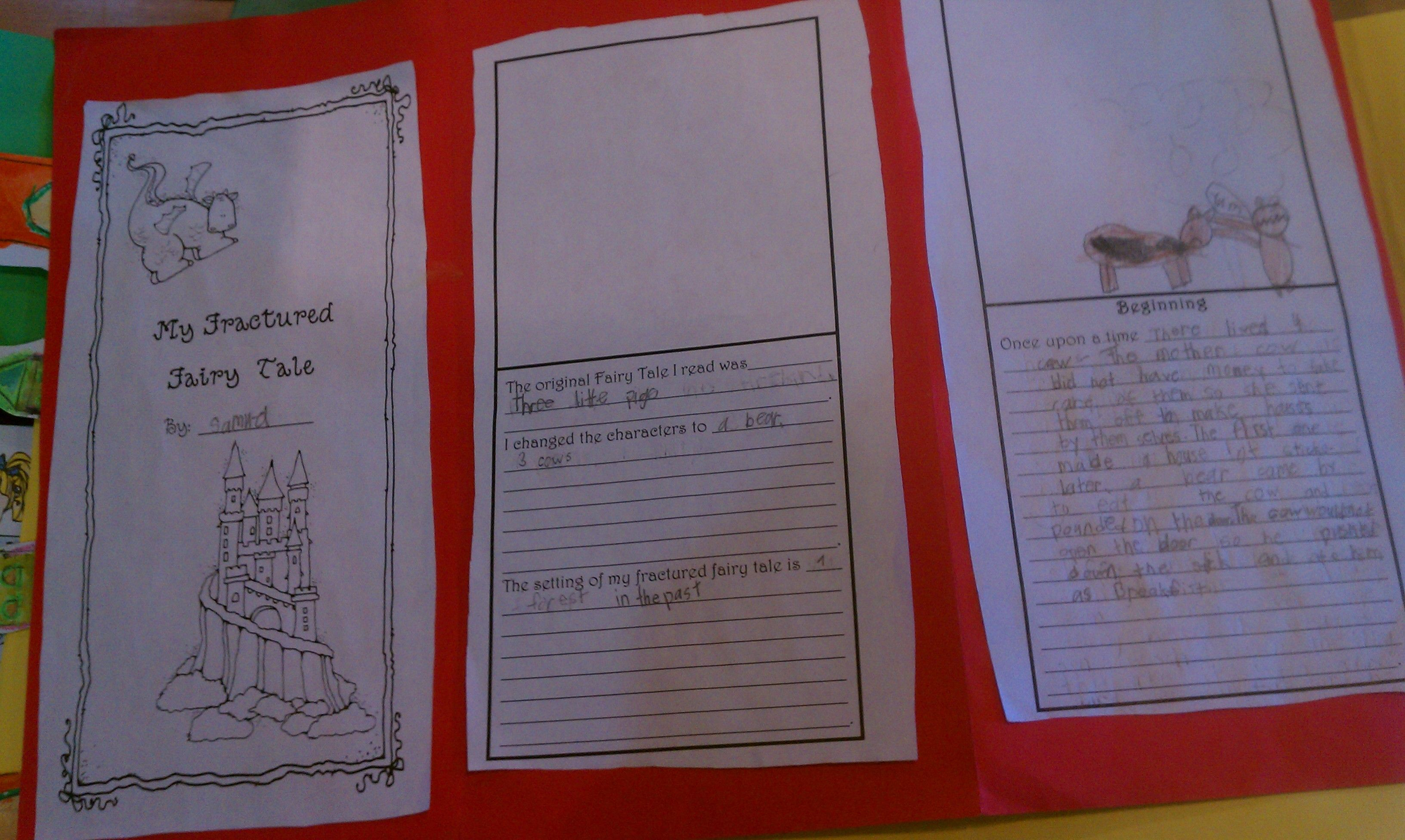 Fractured Fairy Tale 2nd Grade