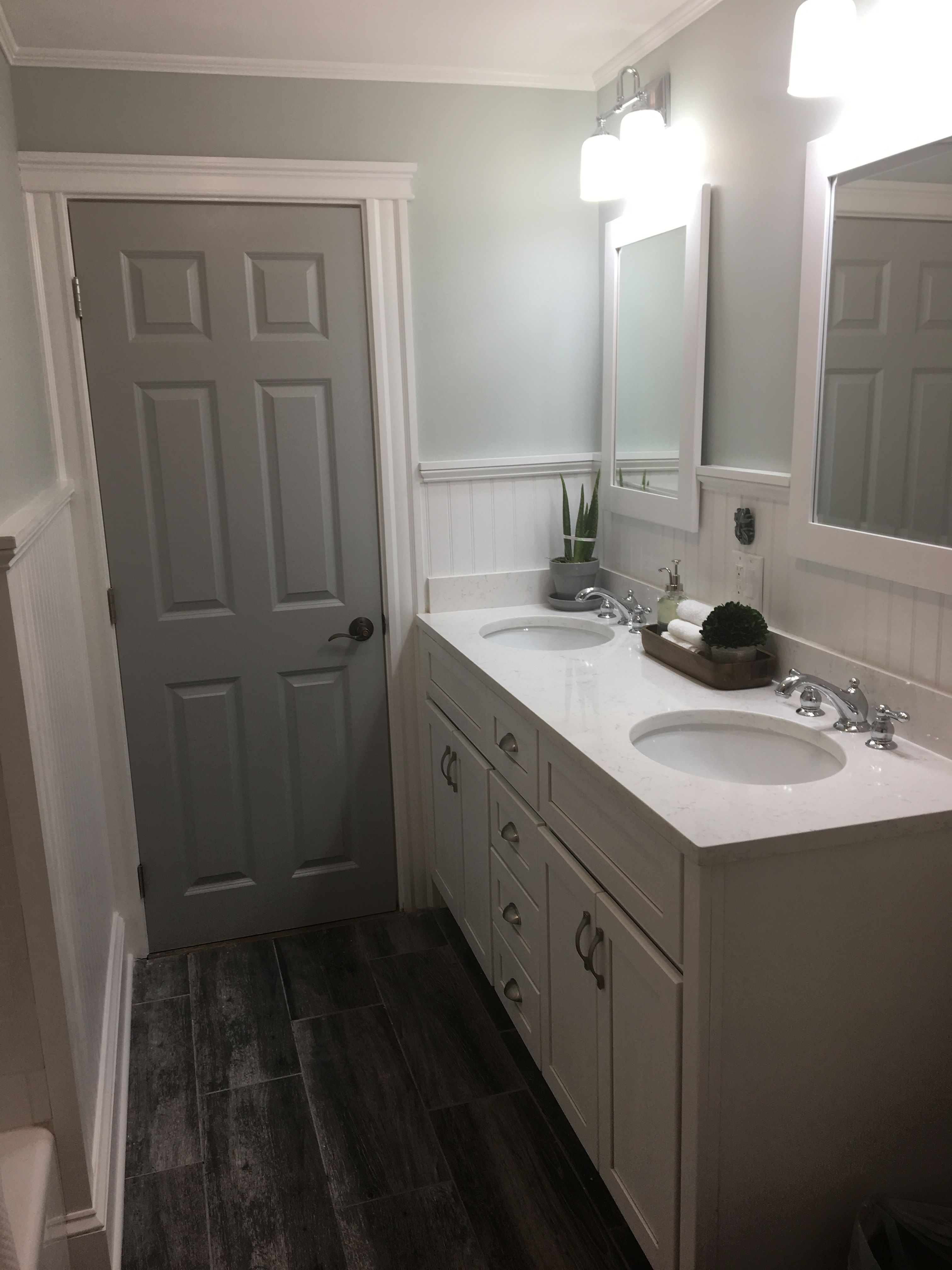 Gray Painted Bathroom Door Behr Classic Silver Bathroom Colors Grey Interior Doors Bathroom Doors