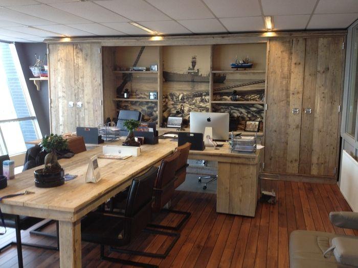 Kantoorinrichting Consultancy Bureau : Afbeeldingsresultaat voor kantoorinrichting steigerhout