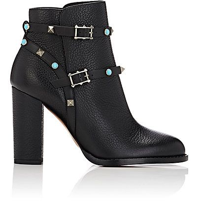 c1eb65a1b Valentino Rockstud Rolling Ankle Boots - Boots - 504694156 | Shoes ...