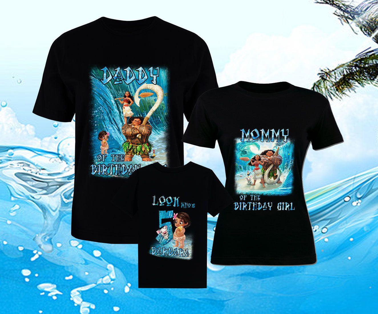 Disney birthday tshirts moana shirt family shirts