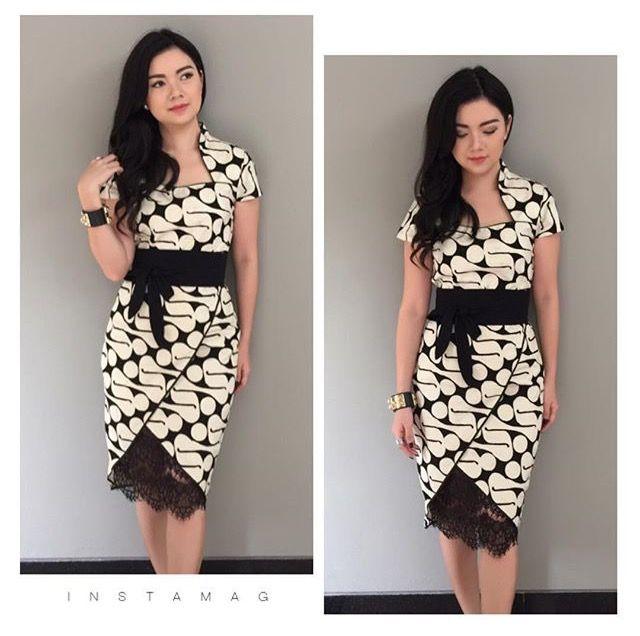 Pin by Paula Prasetya on IBATIK  Pinterest  Batik dress