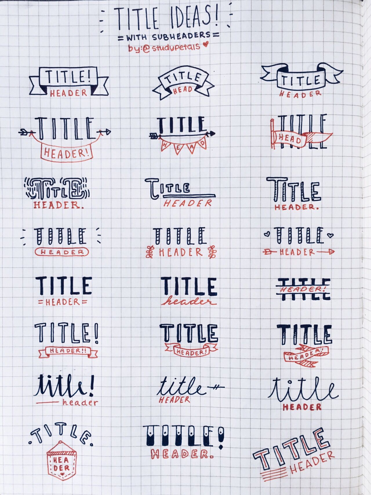 found on studypetals tumblr | bullet journaling | pinterest | bullet