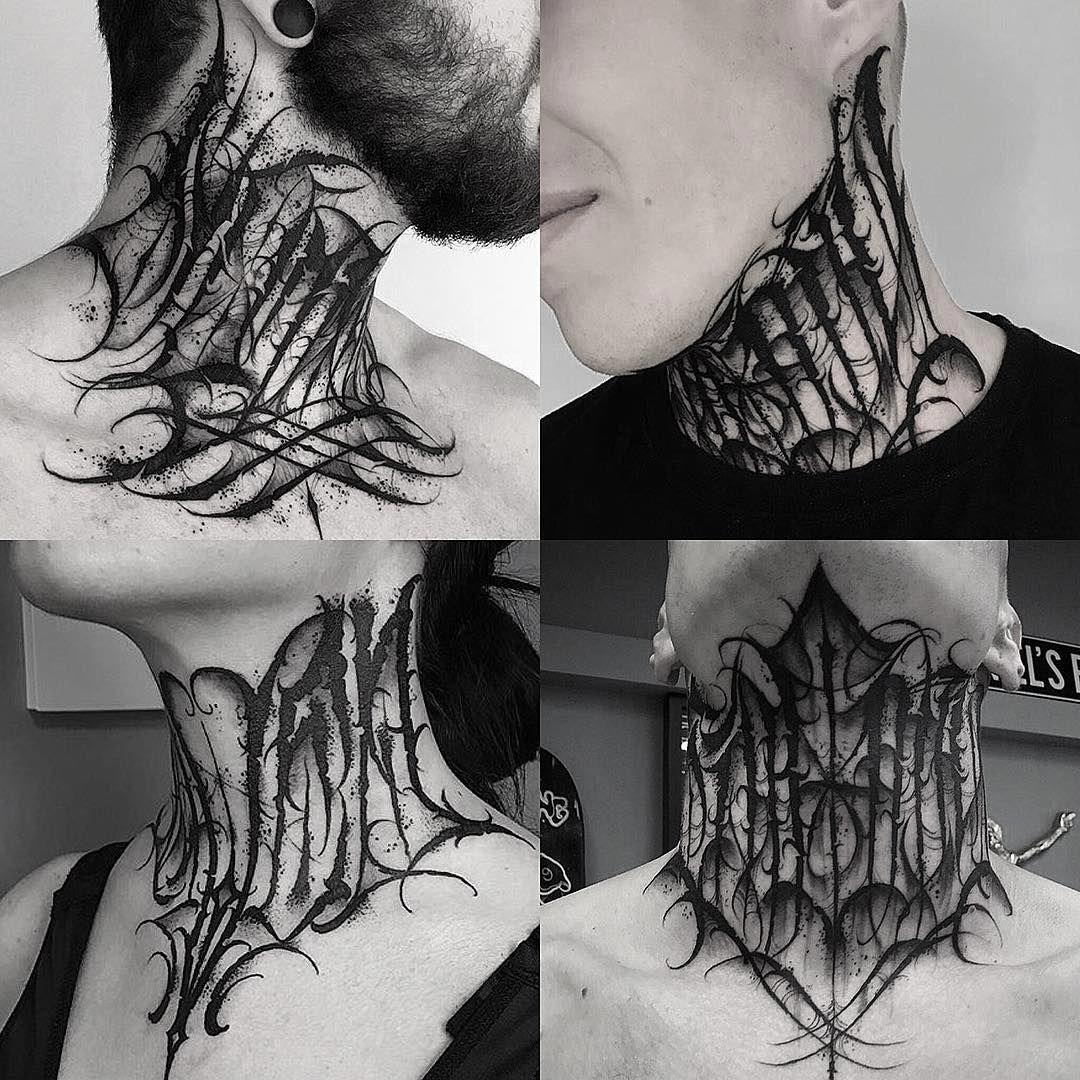 Sexytattoos Neck Tattoo Neck Tattoo For Guys Tattoo Lettering