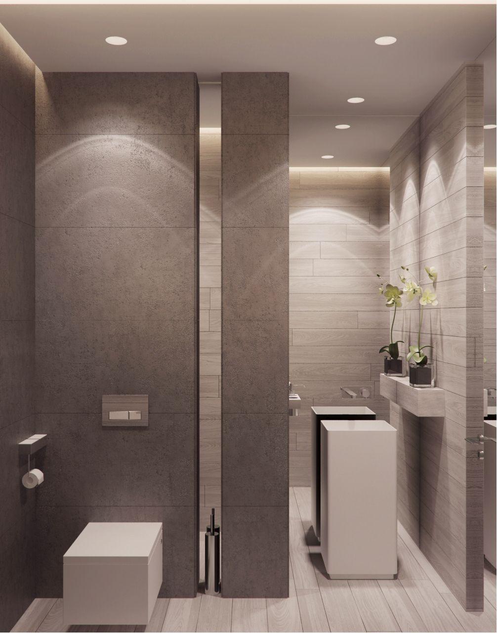 Colores y combinacion muy linda materiales de piso y for Materiales de bano