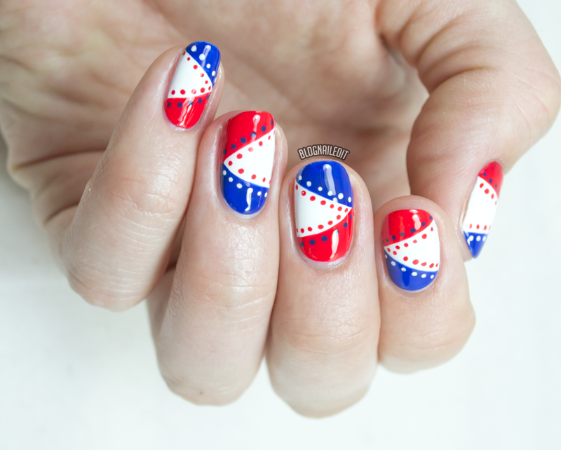 20+ Beautiful Patriotic Nautical Nail Art Ideas | Nail nail, Nail ...