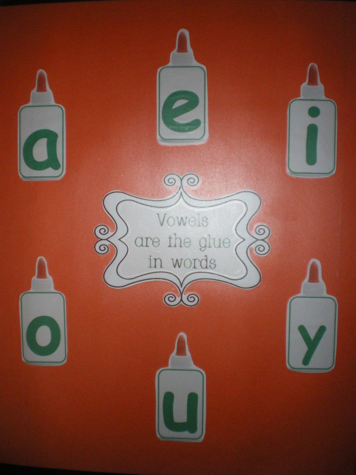 Cute Vowel Activities For K Anchor Chart And Cool Movement Activity