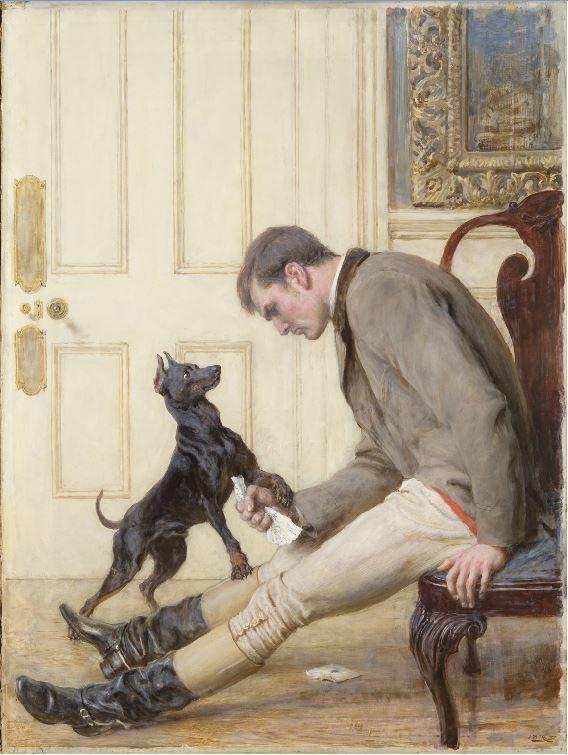 """Jilted,"" 1887, Briton Rivier"