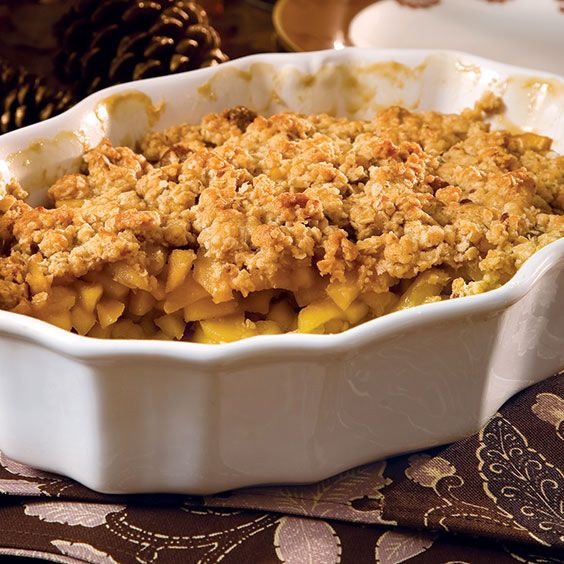 Apple Cobbler Oatmeal Ginger Topping Recipe Paula Deen Deen