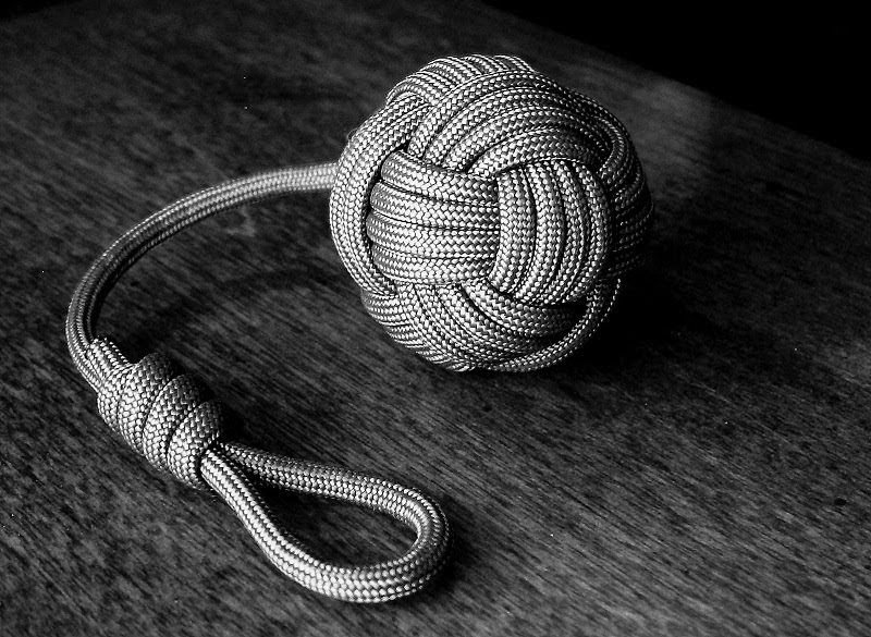 I share photos of my hobby with decorative and useful knot