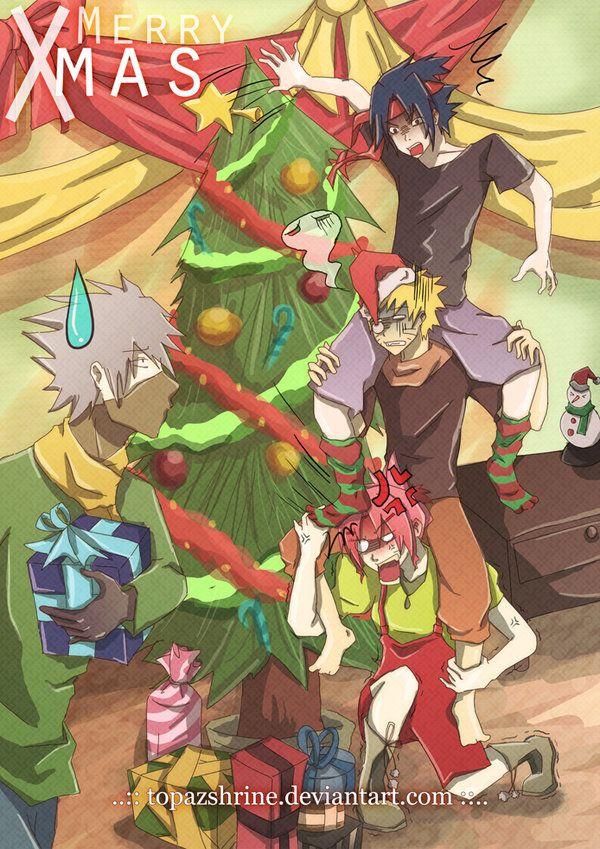 Crazy Christmas Anime Naruto Naruto Teams