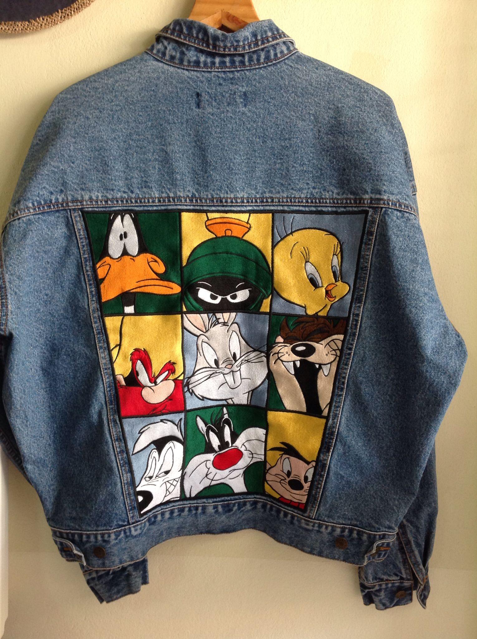Disney Jacket 1200baht Art Clothes Painted Clothes Diy Denim Diy
