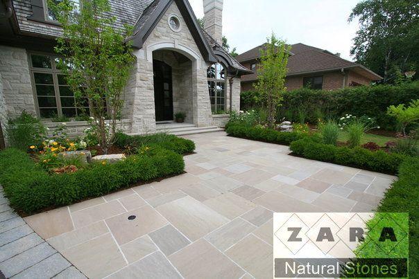Zara Lavender Flagstone Pavers Square Cut Flagstone Lavender Indian Patio