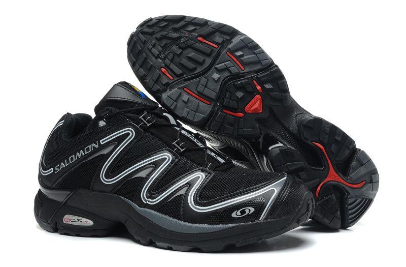 Cheap Salomon XT Black Hawk and silver shoes for men