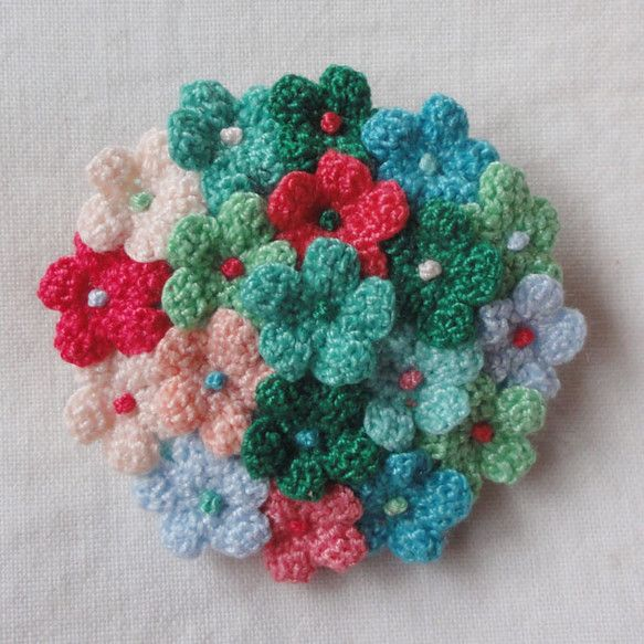 "Bouquet / Round of floret / ""bright fresh green"""