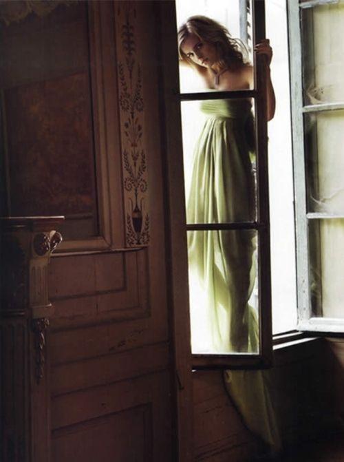 window watching ~ #princess #green