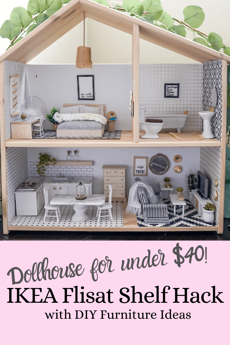 DIY Dollhouse and Miniature Furniture - Treehouse Threads