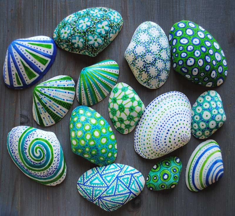 Photo of Decorated Shells