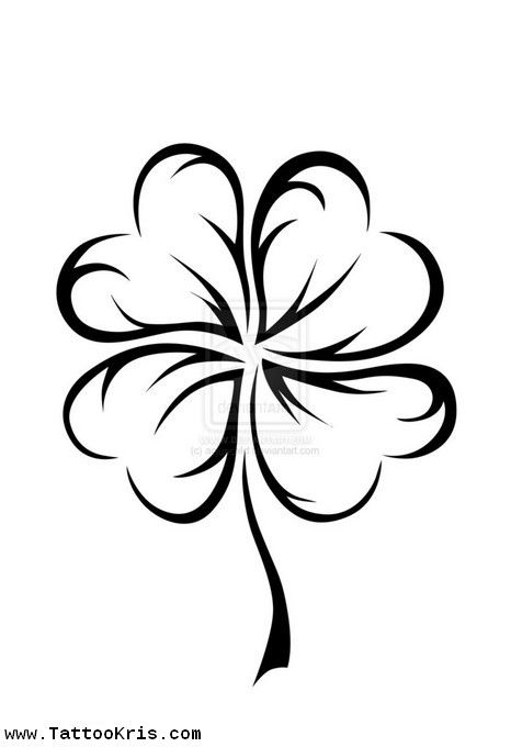four leaf clover tattoo - Google Search | Tatoos | Pinterest ...