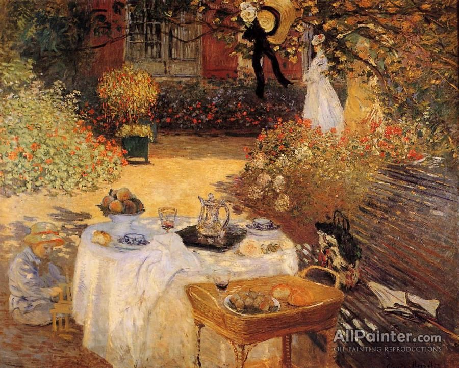 Claude Monet The Luncheon oil painting reproductions for sale