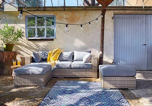 Praxis | Een mediterrane tuin creëer je snel met een vloerkleed en ...