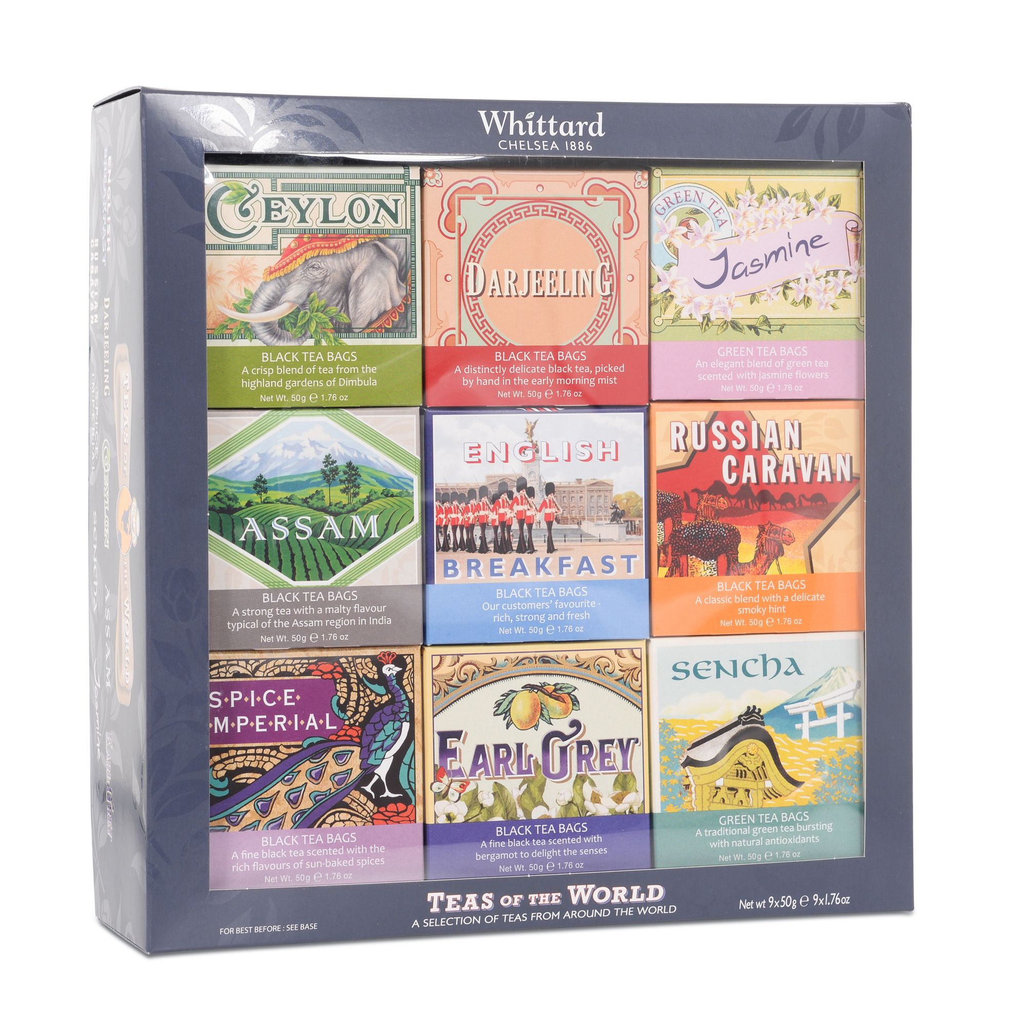Teas of the World Whittard of Chelsea (With images